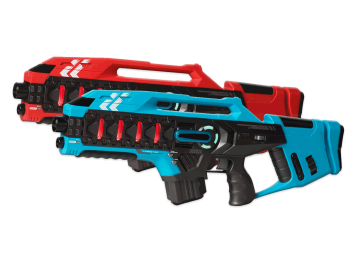 Lasergame - 4 guns XL
