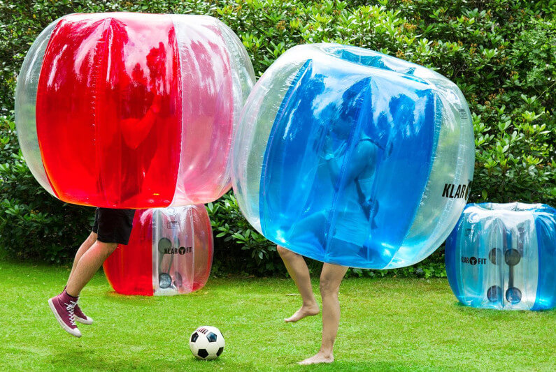 Bubbelvoetbal huren